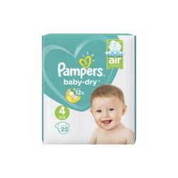 PAMPERS BABY.DRY T4 X25